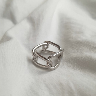 TOMORROWLAND - 【NEW】925 square chain ring
