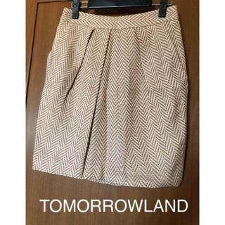 トゥモローランド(TOMORROWLAND)のTOMORROWLAND セレクト品 春色スカート(ひざ丈スカート)