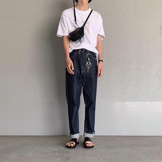 サンシー(SUNSEA)のcamiel fortgens normal jeans(デニム/ジーンズ)