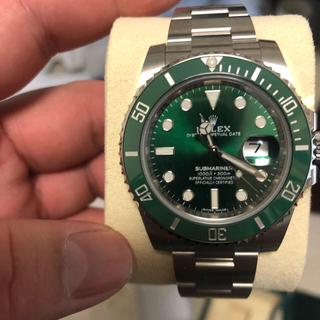 ロレックス(ROLEX)のロレックス グリーンサブマリーナ116110LV 未使用品(腕時計(アナログ))