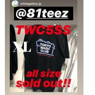 シュプリーム(Supreme)のTWC5/HT Tシャツ Tokyo Wash Club 81teez XL(Tシャツ/カットソー(半袖/袖なし))