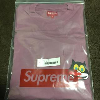 シュプリーム(Supreme)のSupreme cat L/S Pocket Tee XL (Tシャツ/カットソー(七分/長袖))