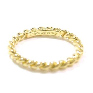 ティファニー(Tiffany & Co.)のTiffany & Co. ツイストナローリング 7.5号(リング(指輪))