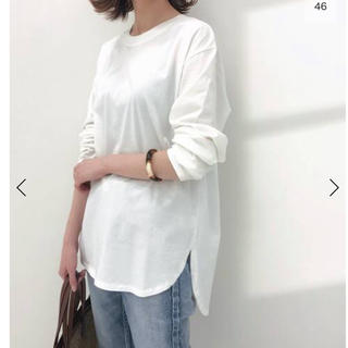 イエナ(IENA)のIENA イエナ ラウンドテール ロングTシャツ(Tシャツ(長袖/七分))