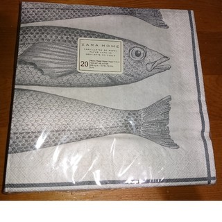 ザラホーム(ZARA HOME)の新品ZARA HOME 紙ナプキン 20枚入(テーブル用品)