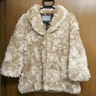 トランテアンソンドゥモード(31 Sons de mode)の美品 31 Sons de mode ファーコート ジャケット(毛皮/ファーコート)