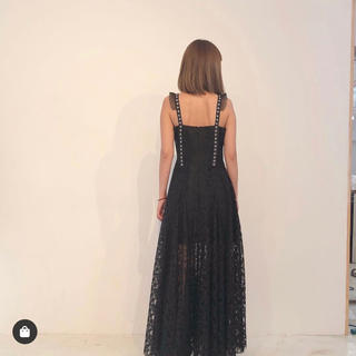 Rosary moon - Rosary moon Belted Lacy Dress