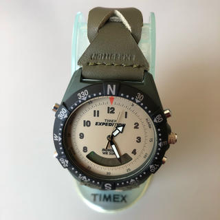 タイメックス(TIMEX)のタイメックス サファリ ハイブリッド T91660(中古美品)(腕時計(アナログ))