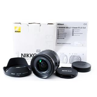 ニコン(Nikon)の★ミラーレス用広角ズーム★1 NIKKOR 6.7-13mm VR ブラック(レンズ(ズーム))