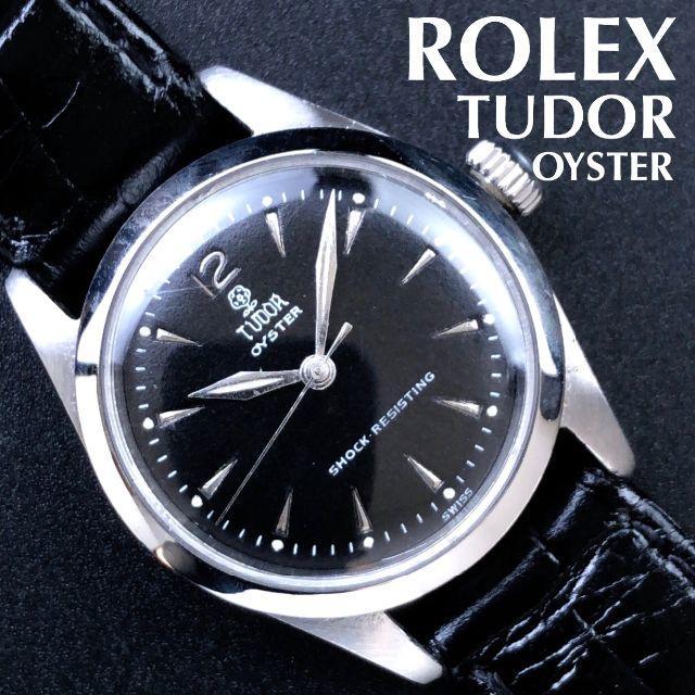 ロレックス スーパー コピー 時計 楽天市場 | Tudor - 即購入OK/超絶美品/チューダー/TUDOR/1960s/ロレックス/小バラの通販