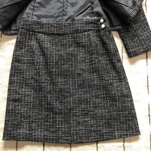 NATURAL BEAUTY BASIC(ナチュラルビューティーベーシック)の今だけお値下げ⭐️美品⭐️NBB⭐️ノーカラースーツ レディースのフォーマル/ドレス(スーツ)の商品写真