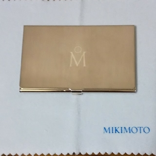ミキモト(MIKIMOTO)のMIKIMOTO名刺入れ❤️カードケース(名刺入れ/定期入れ)
