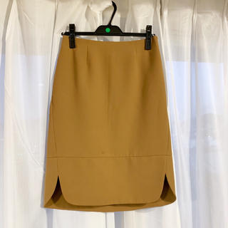 イエナスローブ(IENA SLOBE)のサイドスリットスカート(ひざ丈スカート)