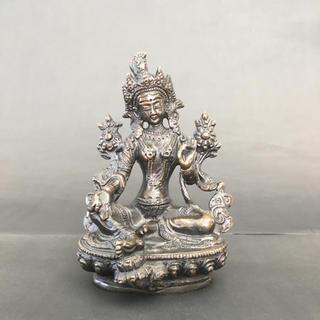 グリーン ターラ 仏像(彫刻/オブジェ)