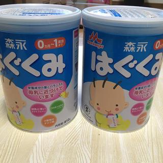 森永乳業 - 【新品未開封】はぐくみ 缶 810g 2缶