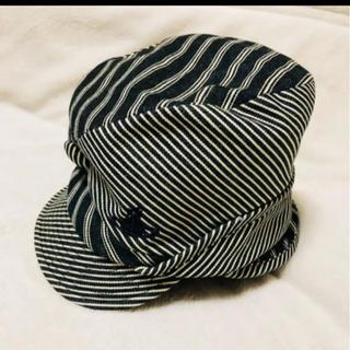 ヴィヴィアンウエストウッド(Vivienne Westwood)の帽子 変形 3way ストライプ ヴィヴィアン (その他)