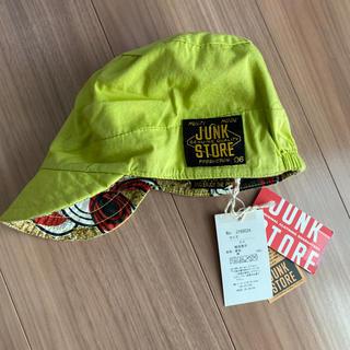 ジャンクストアー(JUNK STORE)の新品タグ付き50帽子キャップ リバーシブル ジャンクストアー⑨(帽子)