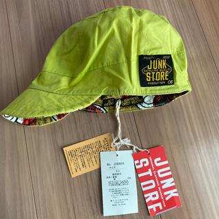 ジャンクストアー(JUNK STORE)の新品タグ付き50帽子キャップ リバーシブル ジャンクストアー④(帽子)