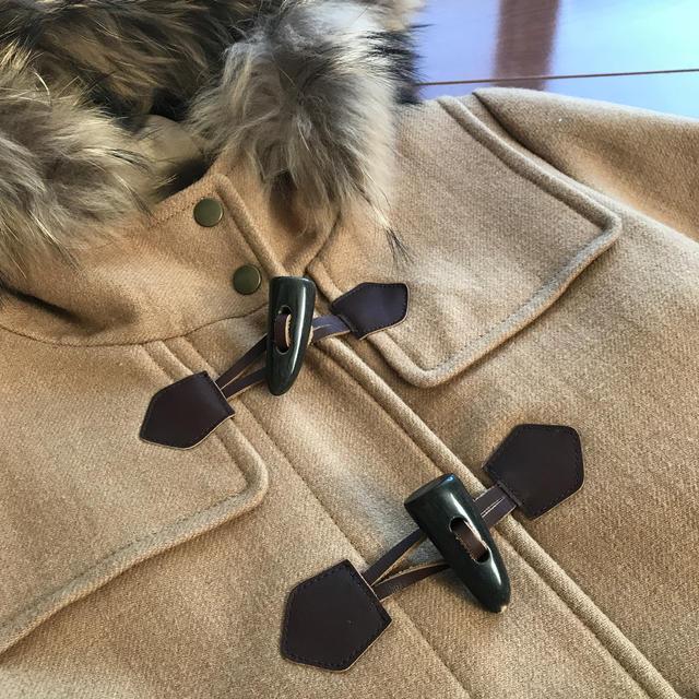 IENA SLOBE(イエナスローブ)の■SLOBE IENAスローブイエナ■ショートダッフルコート キャメル レディースのジャケット/アウター(ダッフルコート)の商品写真