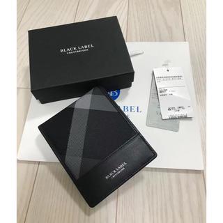 ブラックレーベルクレストブリッジ(BLACK LABEL CRESTBRIDGE)の新品 ブラック レーベル クレストブリッジ 二つ折り財布(折り財布)