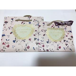 レメルヴェイユーズラデュレ(Les Merveilleuses LADUREE)のラデュレ ショップ袋(ショップ袋)