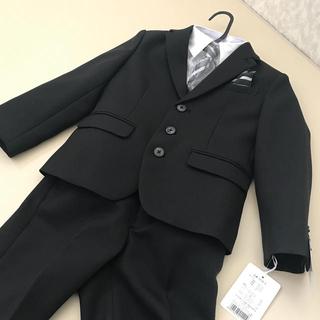 シマムラ(しまむら)の新品⭐️男の子用スーツ4点セット 110㌢(ドレス/フォーマル)