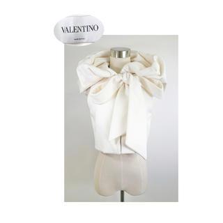 ヴァレンティノ(VALENTINO)のVALENTINO 入手困難品 ビッグおりぼん×ビッグフード ベストジャケット(その他)