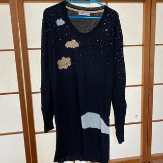 ツモリチサト(TSUMORI CHISATO)の美品★ツモリチサト くじらニットワンピース(ニット/セーター)