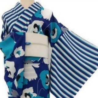 フリフ(ふりふ)の新品 定価¥47300  撫松庵 セオアルファ ぶしょうあん ポピー 浴衣(浴衣)