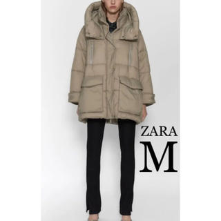 ザラ(ZARA)の【新品・未使用】ZARA 撥水加工入り コート M(ダウンコート)