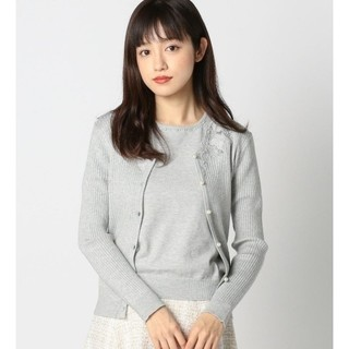 今期商品完売品【新品タグ付】MISCH MASCH*刺繍カーデニットアンサンブル