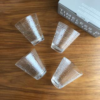 iittala - 【新品、未使用】イッタラ カステヘルミ クリア 300ml グラス 4個