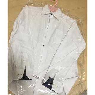 オリヒカ(ORIHICA)のORIHICA 美品 ボタンダウン シャツ スーパーノンアイロン ワイシャツ(シャツ)