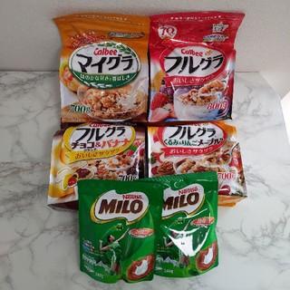 カルビー(カルビー)の【お得セット】フルグラ4袋セット ミロ2袋セット(米/穀物)