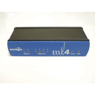 emagic MT4 USB MIDIインタフェース 2in 4out(MIDIコントローラー)
