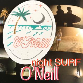 オニール(O'NEILL)のO'NEILLオニールUS限定star waveデザインオーバルロゴステッカー(サーフィン)