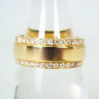 K18 ダイヤモンド リング 12号[g137-3](リング(指輪))