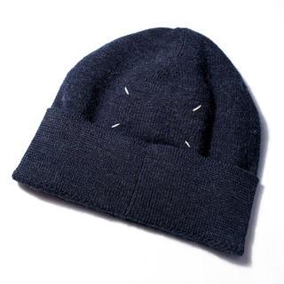 マルタンマルジェラ(Maison Martin Margiela)のMartin Margiela マルジェラ 美品 ニット キャップ 帽子 正規品(ニット帽/ビーニー)