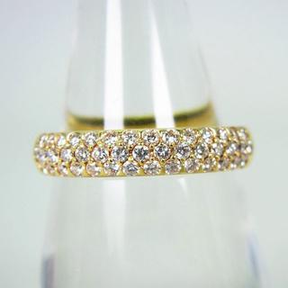 K18 ダイヤモンド リング 12号[g137-6](リング(指輪))