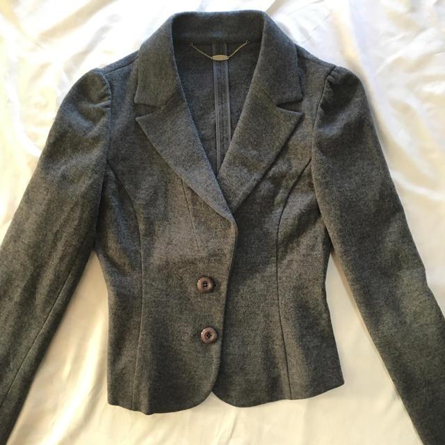 ef-de(エフデ)のエフデ セットアップ ウール スーツ グレー 7号 レディースのフォーマル/ドレス(スーツ)の商品写真