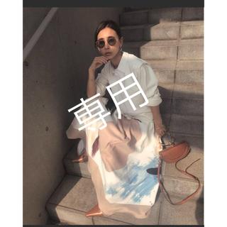アメリヴィンテージ(Ameri VINTAGE)のAmeri vintage☆ MARY PAINTING FLARE SKIRT(ロングスカート)