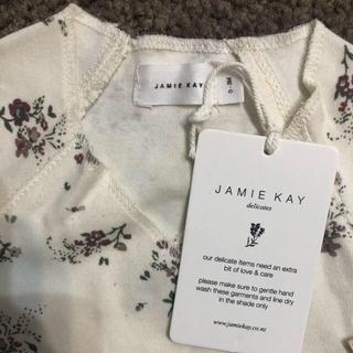 キャラメルベビー&チャイルド(Caramel baby&child )の【新品・未使用】JAMIE KAY 短肌着(タンクトップ/キャミソール)