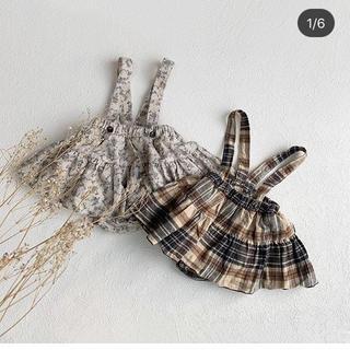 キャラメルベビー&チャイルド(Caramel baby&child )のmonbebe スカート ♡(スカート)