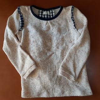 ビケット(Biquette)のキムラタン ビケット Biquette  120 セーター ベージュ 女の子(Tシャツ/カットソー)