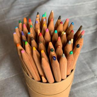 ムジルシリョウヒン(MUJI (無印良品))の無印良品 色鉛筆 60色 ケース付き 中古(色鉛筆)