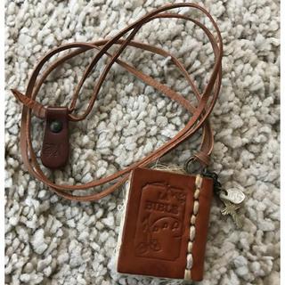 スタディオクリップ(STUDIO CLIP)のブック型ネックレス 本革(ネックレス)