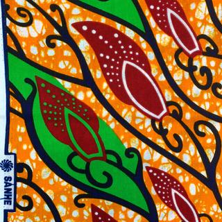アフリカ布の切り売り 100cm単位 ハンドメイド バオバブ神戸 1種類のお値段(生地/糸)