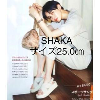 FREAK'S STORE - SHAKA シャカ FIESTA PLATFORM 厚底 サンダル スポサン