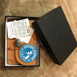 ヒステリックグラマー(HYSTERIC GLAMOUR)のヒステリックグラマー サドルレザー ウォレット(折り財布)