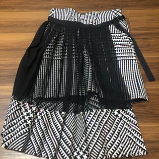 サカイ(sacai)のsacai2016aw巻きスカート(ひざ丈スカート)
